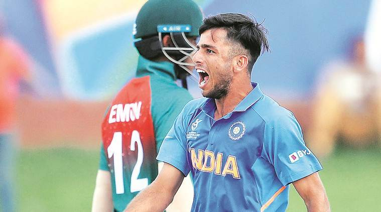 ravi bishnoi, U-19 World Cup, U-19 World Cup final, India vs Bangladesh, Ind vs Ban, India vs Bangladesh U-19 World Cup final, U-19 World Cup final India vs Bangladesh, Cricket news, sports news, Indian Express