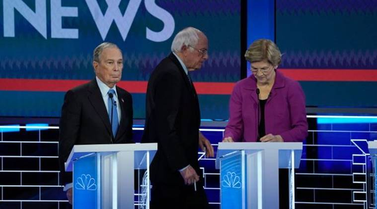 Debate night brawl: Mike Bloomberg, Bernie Sanders attacked by rivals