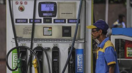 petrol prices, diesel prices, oil price fall, oil price unhanged, international oil fall price, Oil marketing companies, omc, indian express