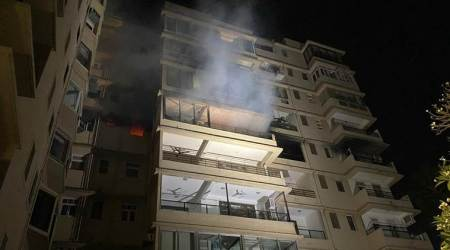 Mumbai: Fire breaks out at highrise in Malabar Hill, rescue ops underway