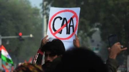 Mumbai bagh protestm Nunbai bagh anti-caa protest, 300 people booked in Nagpada, Citizenship Amendment Act, CAA, National Register of Citizens, Mumbai Police, mumbai news, indian express news