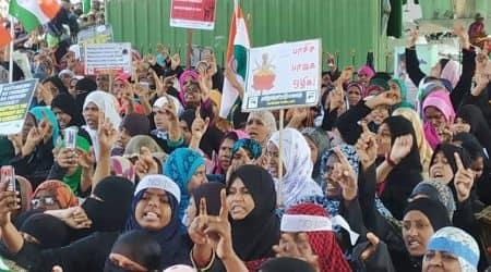 chennai anti-caa protests, chennai police lathicharge, chennai protesters police clash, chennai police commissioner, tamil nadu caa violence, india news, indian express
