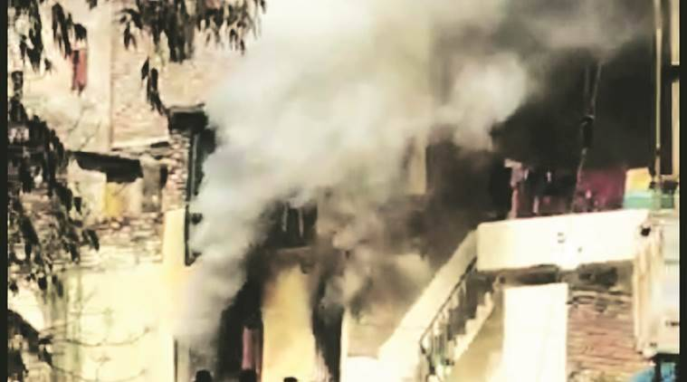 chandigarh Sector 26 fire, chandigarh fire, Bapudham Colony fire, chandigarh city news