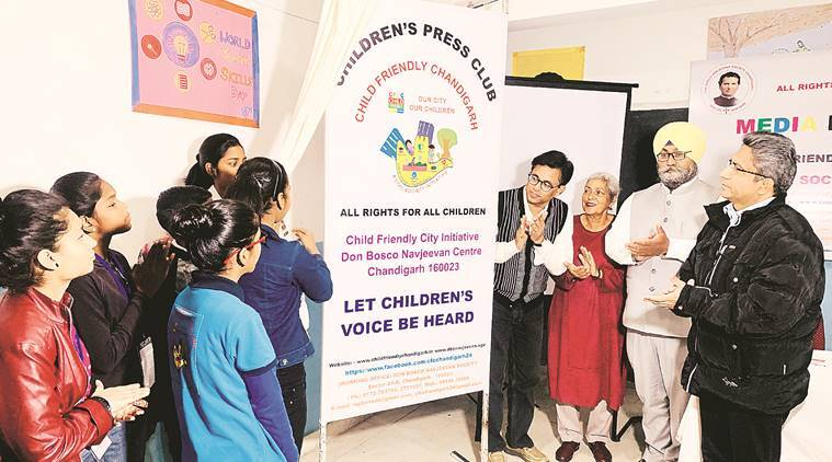 Chandigarh: Children's Press Club launched by Don Bosco Navjeevan Society