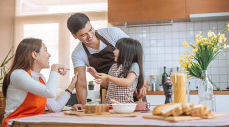 cooking with kids, parenting