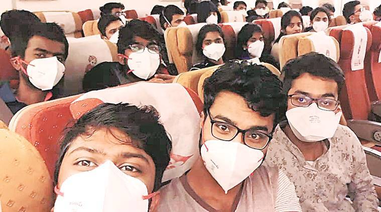 coronavirus infection, coronavirus cases in India, coronavirus deaths, coronavirus india, indians in china, wuhan crisis, indian express news