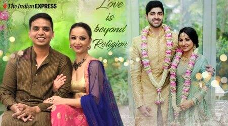 Valentine's Day, Valentine's Day 2020, Valentine's Day, Hindu Muslim marriages, Hindu Muslim couple, Hindu Muslim marriages special marriage act, Hindu Muslim romance, Hindu Muslim bollywood movie, indian express news