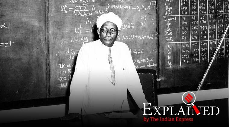National Science Day, National Science Day February 28, CV Raman, Raman effect, what is Raman effect, express explained, indian express, why is sea water blue