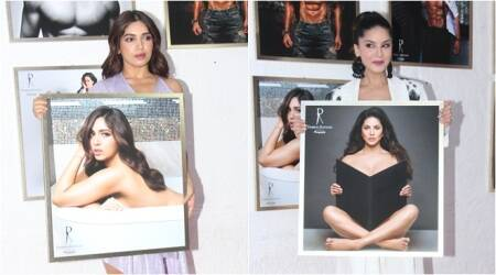 Bhumi Pednekar, Sunny Leone, Rekha and others attend Dabboo Ratnani calendar launch