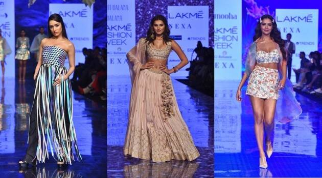 Day 4 of Lakme Fashion Week was as glamorous as it could get. With many actors from B-Town walking down the ramp in the best designs possible from the house of Abu Jani Sandeep Khosla, Punit Bulana, SVA couture and more, the day was filled with hues of pastels and shimmer alongside metallic ensemble. Sara Ali Khan, Tara Sutaria, Shraddha Kapoor were among the many who walked the ramp and gave us some major fashion goals. Check it out here.