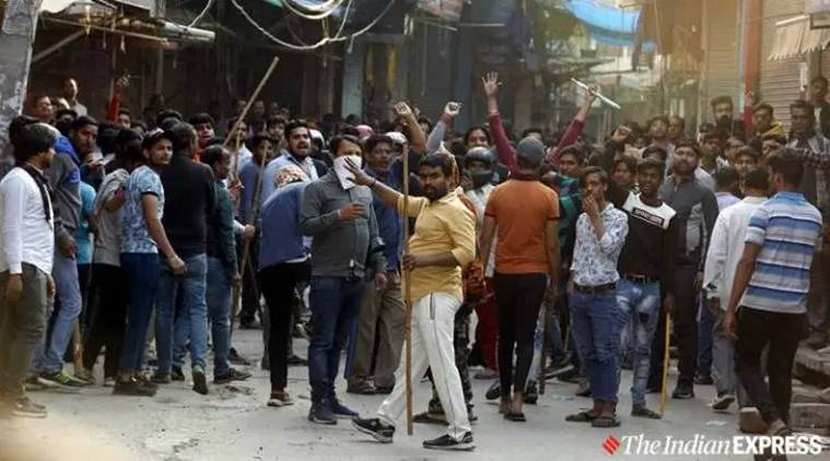 Delhi violence, Bernie Sanders on Delhi violence, US lawmakers on Delhi violence, PM Modi on Delhi violence, Maujpur Babarpur violence, Jaffrabad violence, Delhi Police, India news, Indian Express