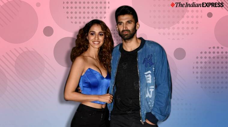 Malang Promotions Disha Patani And Aditya Roy Kapoor Step Out Twinning In Blue Lifestyle News The Indian Express
