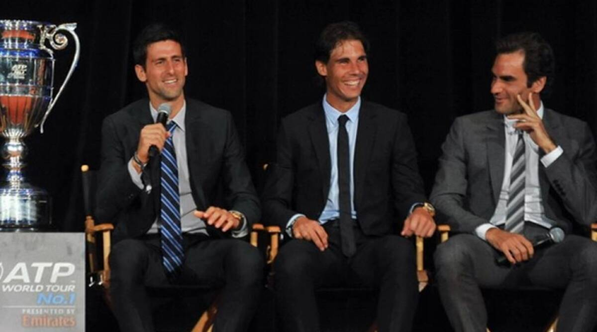 Rafael Nadal Roger Federer Will Be Missed At Us Open Novak Djokovic Sports News The Indian Express