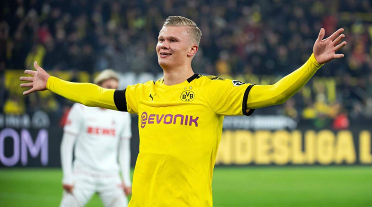 Erling Haaland The Baby Faced Terminator Lighting It Up For Dortmund Sports News The Indian Express