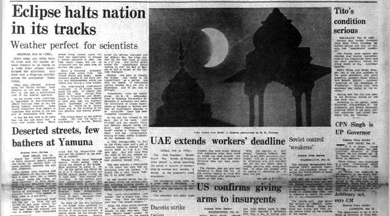 Sheikh Zayed Bin Sultan Al-Nahyan, uae president, russia in afghanistan, total solar eclipse, indian express archives