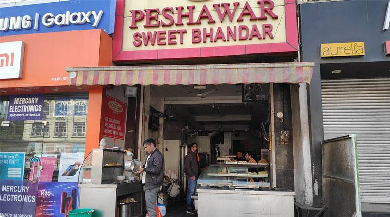 Peshawari roots, sweet shob in delhi Peshawari roots, families in sweets, indian express, indian express news