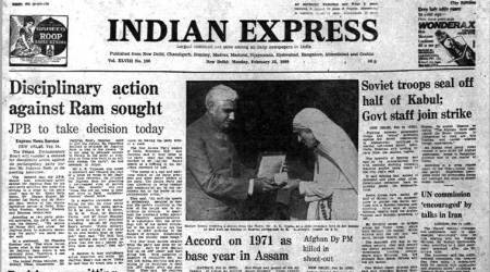 forty years ago, 1971 base year, jagjivan ram, all assam students union, indian express