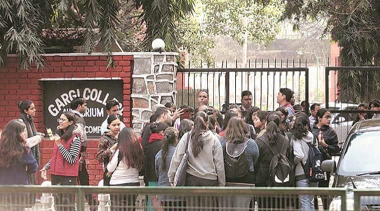 Gargi college, Gargi college molestation, Gargi college students molested, Gargi college students assaulted, Gargi college festival, Gargi college protest, delhi news