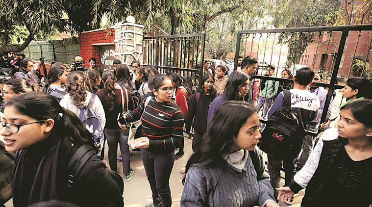 Sexual harassment at Gargi College: FIR filed after protest by students