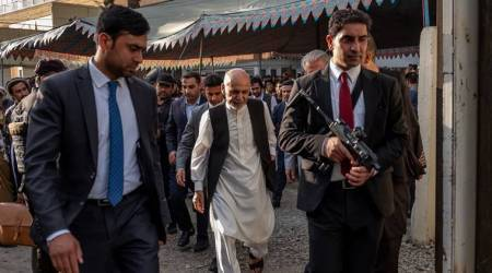 Ashraf Ghani named Afghan election winner. His opponent claims victory, too
