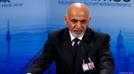 ashraf ghani on taliban us peace deal, release of prisoners in taliban us deal, afganistan taliban United states peace deal, United states afghanistan, Taliban attack, us in afghanistan, world news, indian express news ,Afghanistan taliban deal, United states Afghanistan, US-Taliban peace deal, Munich security conference, Afghanistan taliban peace talks, Ashraf Ghani, donald trump,