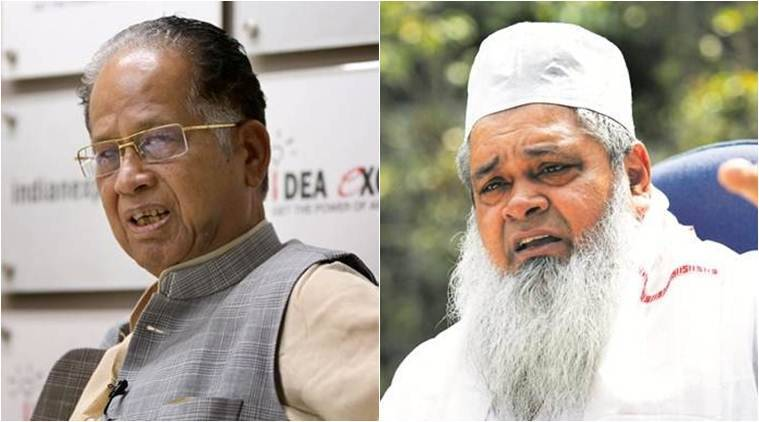 Assam news, Assam Rajya Sabha polls, Tarun Gogoi, Tarun Gogoi on alliance with AIUDF, All India United Democratic Front, indian express
