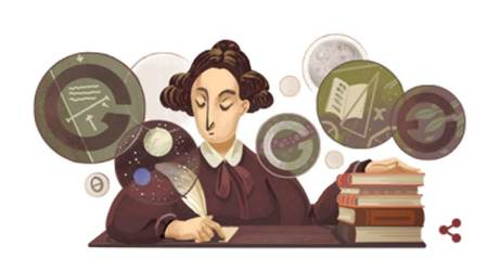 Mary Somerville, google doodle today, google doodle Mary Somerville, google doodle Mary Somerville, who is Mary Somerville, indian express, indian express news