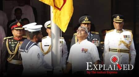 Sri Lanka national anthem in Tamil, Sri Lanka's Independence Day, Gotabaya Rajapaksa, Ananda Samarakoon, indian express, express explained, sri lanka news