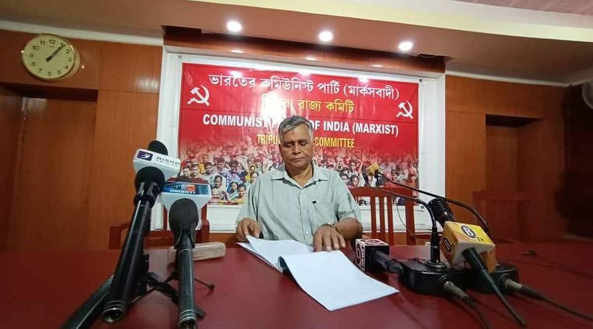 Tripura CPI(M) secretary Goutam Das