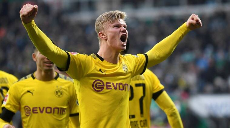 Erling Haaland Scores Again As Dortmund Leipzig Keep Pressure On Sports News The Indian Express