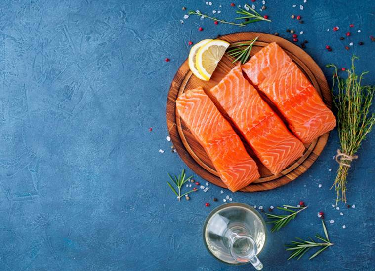 happiness, happiness and hormones, happy foods, foods that can increase happiness, health, dark chocolates, salmon fish, blueberries, indian express, indian express news