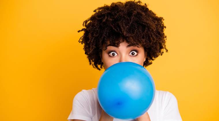 helium, inhaling helium, helium gas, helium balloons, health hazard, can helium affect health, indian express, indian express news