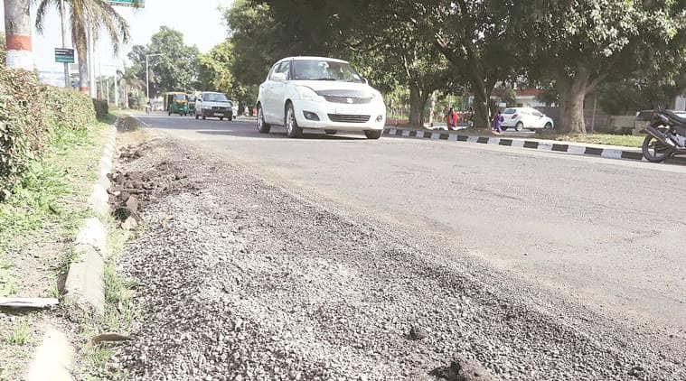 Potholes issue in panchkula, panchkula roads, panchkula potholes, Swaraj Abhiyan, panchkula news