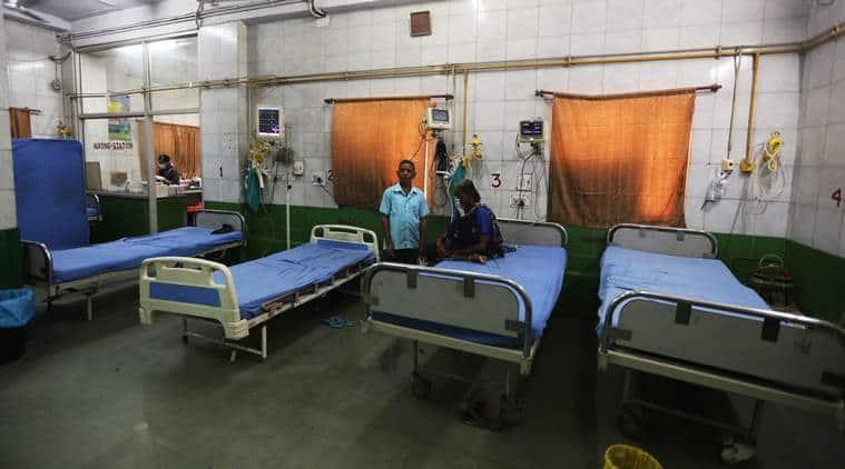 Andhra Pradesh, Andhra Pradesh public hospitals, Andhra Pradesh diverting patients to private hospitals, Andhra Andhra healthcare, Andhra Pradesh govt hospital corruption, Andhra Pradesh Anti-Corruption Bureau, ACB raids Andhra Pradesh hospitals, Indian express