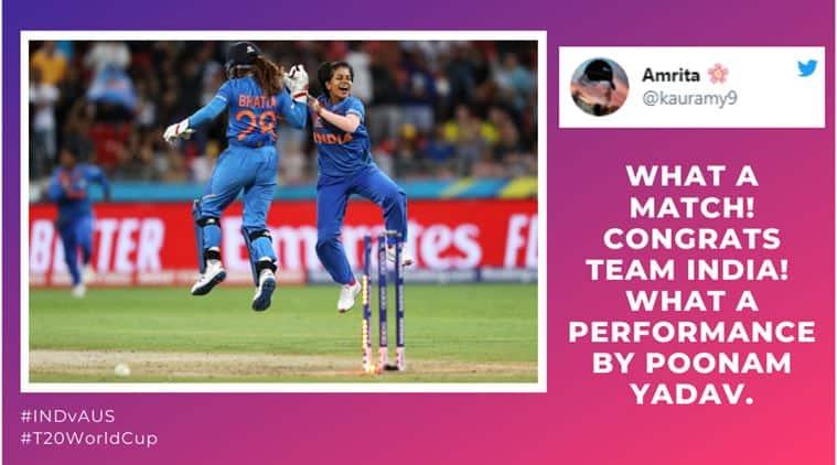India vs australia, women t20 world cup, poonam yadav, poonam, poonam yadav t20 world cup, poonam yadav vs australia, india women vs australia women, india vs australia, india australia t20 world cup, indw vs ausw, women t20 world cup, t20 world cup, cricket news