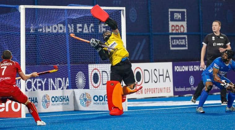 Hockey Premiere League, India Belgium hockey match, Hockey Premiere League India vs Belgium, India vs Belgium Hockey Premiere League, Sports news, Indian Express