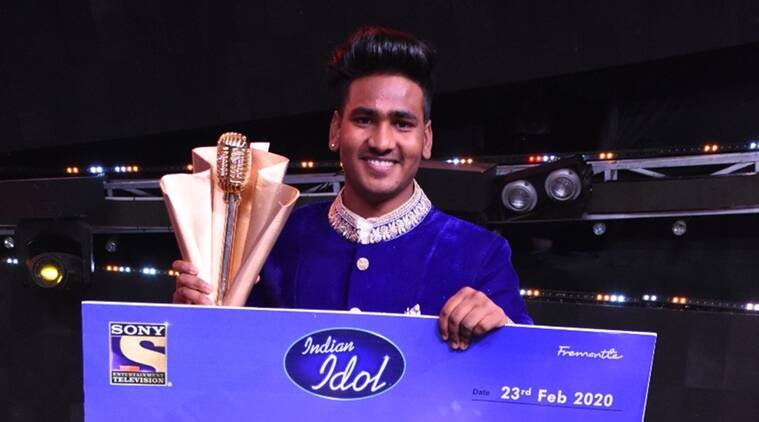 Indian Idol winner