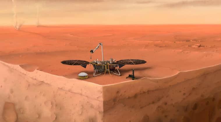 insight lander, insight data, insight one year data, insight on mars, mars, nasa