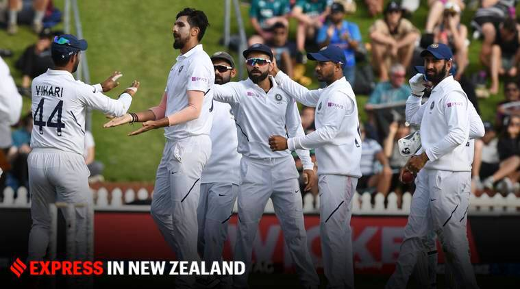 Ishant Sharma, easily the tallest against New Zealand attack