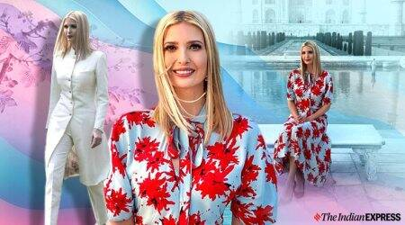 Ivanka Trump dresses to impress on visit to India; see pics