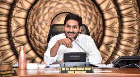 Andhra Pradesh, jagan reddy, affordable homes for poor, Andhra Pradesh land for houses, residential plots for poor families, Telugu New Year, YSRCP election manifesto, indian express
