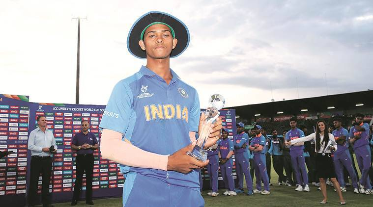 Yashasvi Jaiswal, Yashasvi Jaiswal story, Yashasvi Jaiswal batting, Yashasvi Jaiswal IPL, IPL Auction Yashasvi Jaiswal, Yashasvi Jaiswal under 19 world cup, cricket news, sports news, indian express news
