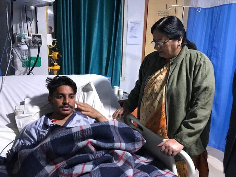 jami v-c najma akhtar jamia student injured