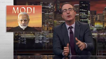 Disney India blocks John Oliver's show critical of Narendra Modi