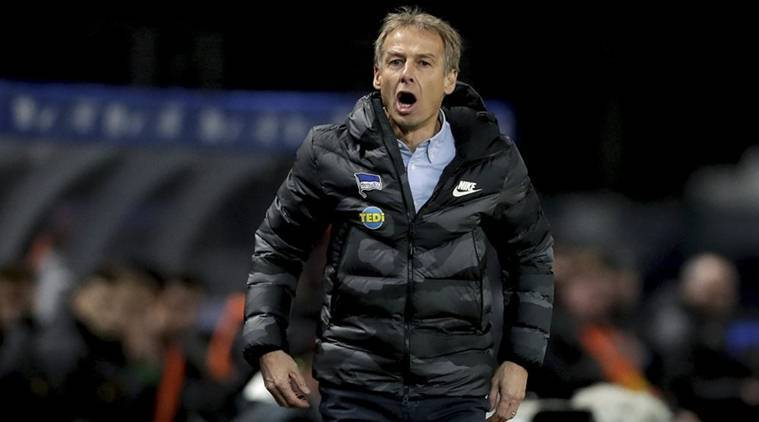 Jurgen Klinsmann, Jurgen Klinsmann resignation,Hertha Berlin coach Hertha Berlin, Hertha Berlin general manager, football, football news, sports, sports news
