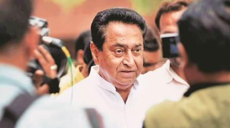 Madhya Pradesh government, Madhya Pradesh government crisis, Madhya Pradesh Congress government, Kamal Nath, Kamal Nath government crisis, Madhya Pradesh ministers resign, India news, Indian Express