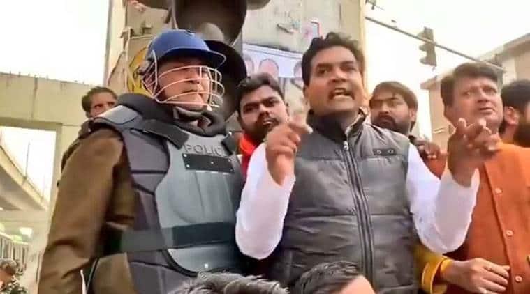 Kapil Mishra, kapil mishra on maujpur protests, kapil mishra caa protests, maujpur violence, babarpur violence, asaduddin owaisi, delhi caa protests,