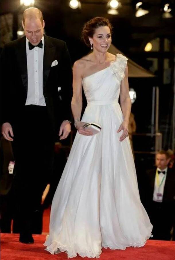 baftas, BAFTA Awards 2020, BAFTA awards 2019 fashion, Duke and duchess of cambridge, kate middelton, JK Rowling, angelina Jolie, irina shayak latest photos, indian express