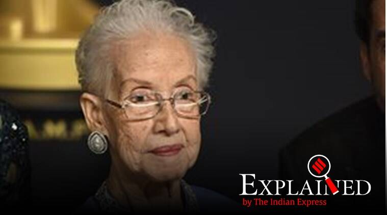 Why NASA's Katherine Johnson is a legend - The Indian Express