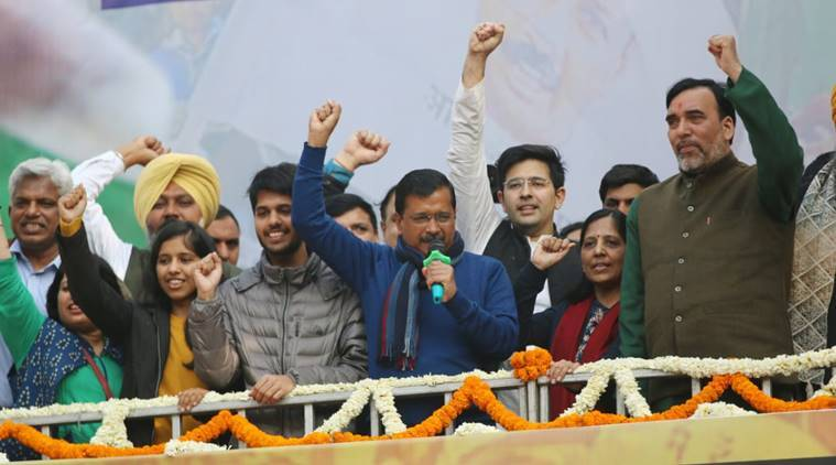 Delhi election results highlights: 'Ghazab kar diya aap logon ne,' Kejriwal tells Delhiites after victory